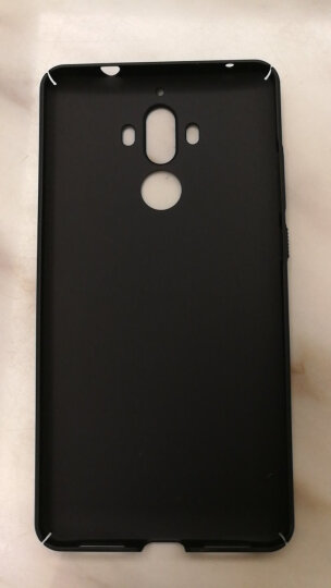 蒙奇奇 华为mate9手机壳保护套磨砂防摔外壳 适用于华为mate9 Mate9星空黑 晒单图