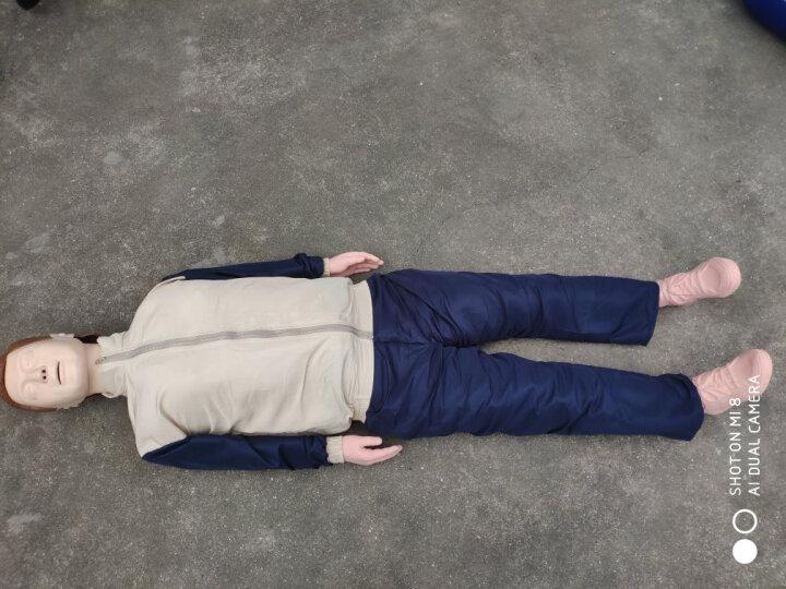 沪模HM/CPR心肺复苏模拟人医学教学模型 多功能 医学急救人体模型 CPR急救安全训练假人橡皮人 HM/CPR390A标配/全身皮箱装 晒单图