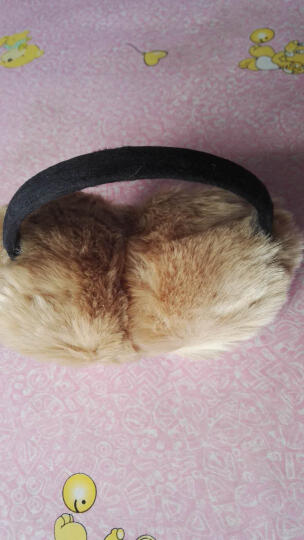 苏子 耳罩耳套保暖女士耳包 男士儿童耳暖耳朵套护耳罩耳捂 卡其色 晒单图