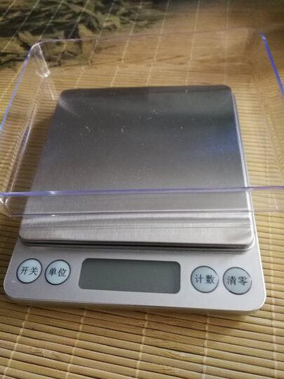酷贝 厨房秤电子秤克称0.1g烘培电子称重精准中药茶叶小型天平高精度0.01家用小称度食物数迷你蛋糕 (充电款)中文500g/0.01g+砝码 晒单图