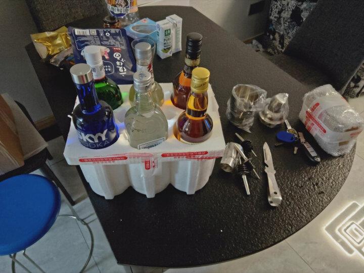 洋酒套装 六大基酒DIY鸡尾酒套餐 欧联达因龙舌兰/伏特加/威士忌/白兰地/金酒/朗姆组合 晒单图