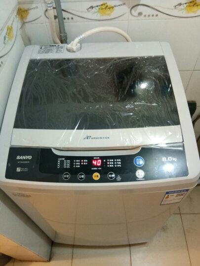 三洋(SANYO) 8公斤全自动波轮洗衣机 大容量洗涤 全模糊智能控制 24h预约(亮灰色) WT8455M0S 晒单图