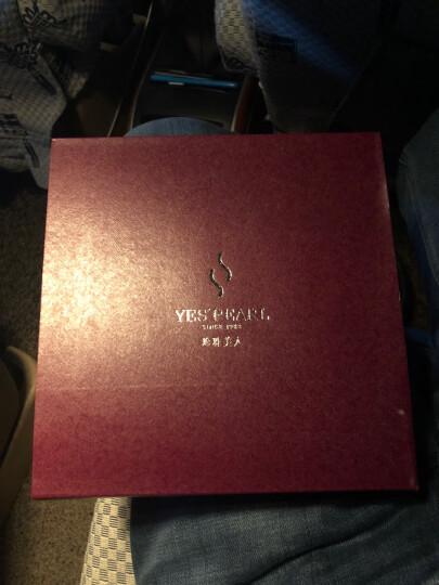 珍珠美人 金色海水珍珠项链 日本Akoya珍珠 正圆强光 送妈妈礼物【金色年华】 7.5-8mm46cm 晒单图
