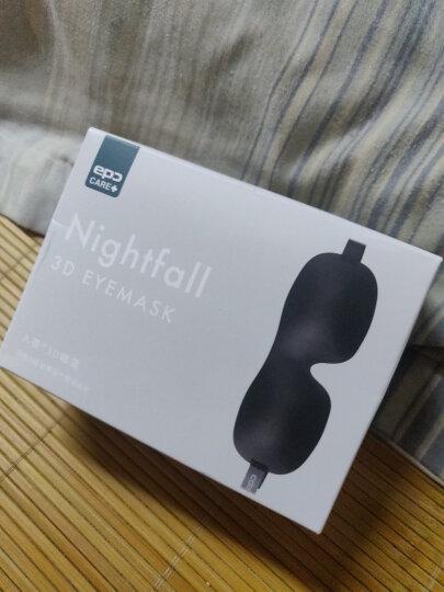 EPC 3D立体睡眠眼罩 轻薄透气遮光眼罩 男女通用 旅行用品 零压感 入夜 锡兰红 晒单图