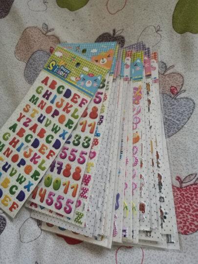 儿童卡通幼儿园奖励贴纸韩国小粘贴3d立体可爱泡泡贴装饰手机贴贴 q卡通动漫男女宝混合20张 晒单图