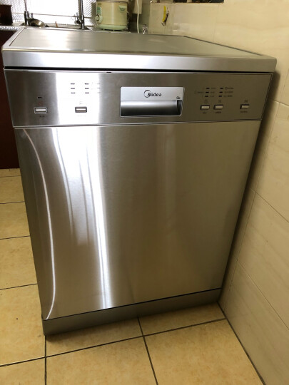 美的(Midea)13套 智能升级款 多功能除菌独立式家用洗碗机 Q6 晒单图