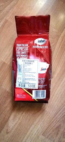 意大利品牌世家兰铎(SegafredoZanetti)中深烘焙精选拼配咖啡豆500g 晒单图