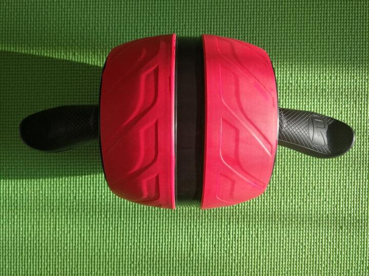 【一年只换不修】盛步健腹轮 腹肌轮收腹机 自动回弹套装巨轮运动健身器材 电镀豪华紫色+俯卧撑架+手套+护膝垫 晒单图