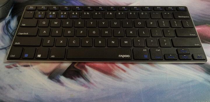 雷柏(Rapoo) X125 有线鼠标键盘套装 有线键盘鼠标套装 有线键鼠套装 电脑键盘 黑色 晒单图
