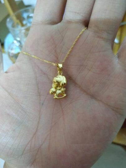 周大福 时尚水波链 18K金项链 E121035 45cm 980元 晒单图
