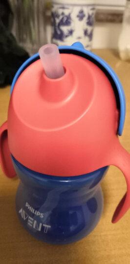 飞利浦新安怡 儿童水杯 吸管杯  学饮杯 带手柄 塑料 200ml梦幻紫 适合9M+ 进口 SCF793/02 晒单图