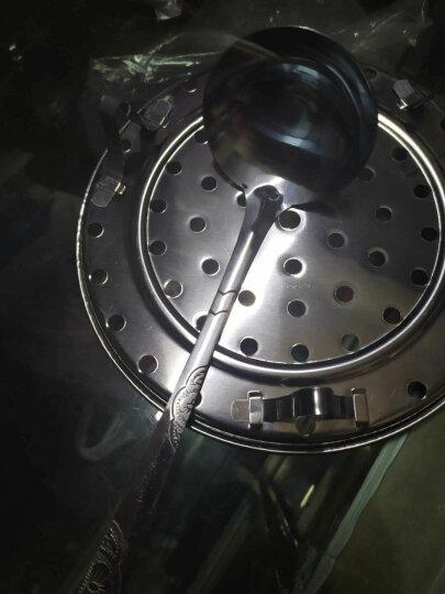 苏泊尔(SUPOR)高压锅304不锈钢复底家用压力锅快煮锅好帮手20/22/24cm电磁炉燃气通用 YS22ED 22CM  5.2L 赠汤勺+蒸盘 晒单图
