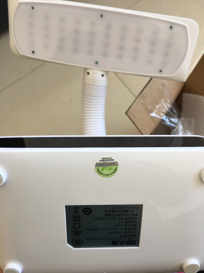 久量(DP)led台灯护眼灯学习 卧室床头充电台灯 升级柔光屏LED-663S 晒单图