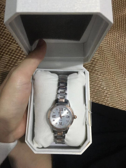 卡西欧(CASIO)手表 SHEEN 女士人工合成蓝宝石玻璃时尚腕表 太阳能石英表 SHE-4522SG-7A 晒单图