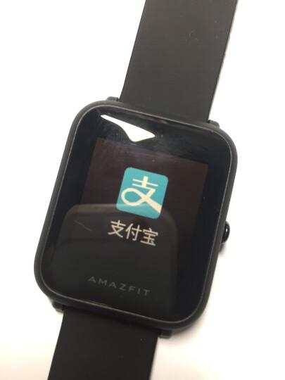 AMAZFIT米动手表青春版华米科技出品 智能运动 学生手表 GPS定位 心率 蓝牙 离线支付 续航45天 曜石黑 晒单图