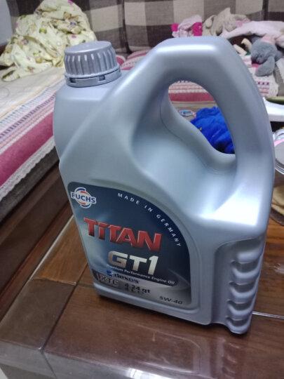 福斯(FUCHS) 泰坦全合成机油 GT1 PRO C3 5W-30 SN 4L 德国原装进口 晒单图