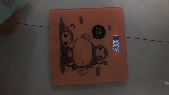 【次日达 充电款】Meilen美乐电子秤称重人体秤精准电子称健康秤减肥成人家用计体重秤 幸福三猴充电款 晒单图