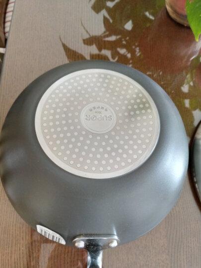苏泊尔supor 火红点3代钛Pro无油烟不粘炒锅30cm电磁炉通用 可立盖EC30HP01 晒单图