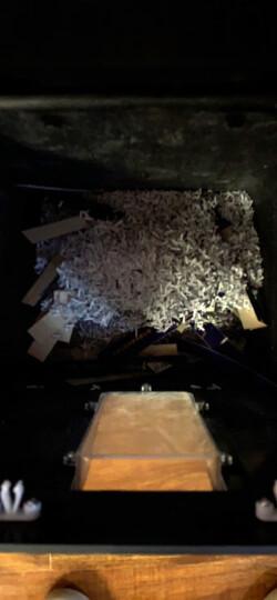 得力(deli)德国5级高保密碎纸机碎卡机 多功能办公商用文件颗粒粉碎机33043 晒单图