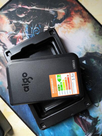 aigo 爱国者移动固态硬盘S01高速USB3.0 迷你便携式SSD120/240G可选 无线移动硬盘HD816-2T(非固态) 晒单图
