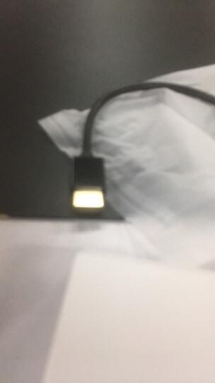 毕亚兹 HDMI转VGA线转换器 高清视频转接头适配器 小米笔记本电脑盒子电视显示器投影仪线 ZH62-黑 晒单图