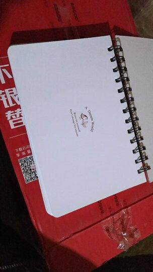 日程本每日计划本可爱学生便携记事本学习效率本备忘录时间管理线圈本笔记本子韩版小清新日记本手账本加厚女 克里斯提娜的旅途 晒单图