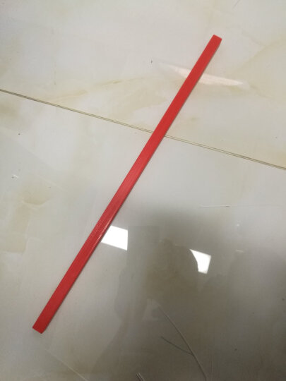 道顿  手动 电动切纸机 刀垫 刀垫  裁纸机方刀条 红色切纸刀护刀条 四面可用 红色 8646rt和8646th 晒单图