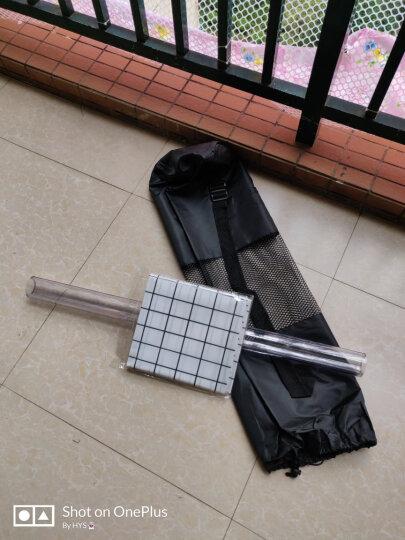 弥雅(MIYA UGO)升级版瑜伽垫185*80cm 加长加宽加厚健身运动垫子 10mm水蓝色(含绑带网包) 晒单图