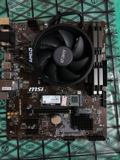 AMD 套装 锐龙 Ryzen 5 2600 CPU+微星B350M BAZOOKA主板CPU套装 套餐三 Ryzen 7 1800X+微星B350M 晒单图