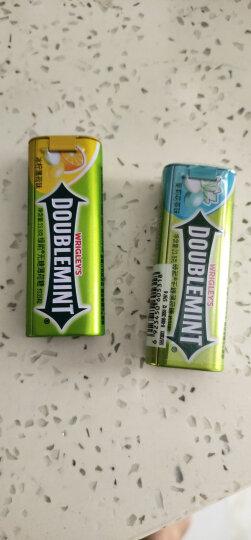 绿箭(DOUBLEMINT)无糖薄荷糖苹果薄荷味35粒23.8g单盒金属装(新旧包装随机发) 晒单图