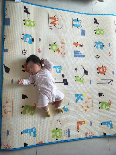 澳乐(AOLE-HW)儿童婴儿游戏围栏爬行垫围挡安全护栏宝宝学步围栏栅栏海洋球池防护栏玩具 跑跑熊围栏12片+门栏+玩具栏 晒单图