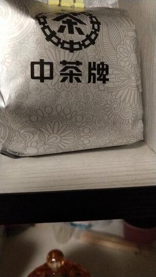 中粮集团中茶牌 普洱茶熟茶 柑普茶大红柑盒装160g 晒单图