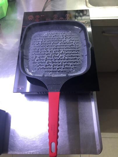 炊大皇平底锅不粘锅24cm麦饭石色煎锅煎牛排煎饼煎蛋煎盘电磁炉明火通用J24E 晒单图