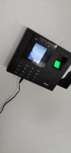 得力(deli)考勤机打卡机指纹考勤人脸识别面部刷脸识别上班签到机打卡器上下班一体机 人脸/指纹/密码考勤机(3763) 晒单图