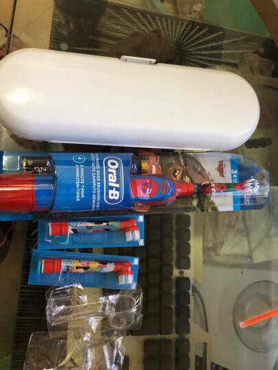 欧乐B(Oral-B)博朗 DB4510k儿童电动牙刷 2分钟震动提示 迪士尼卡通儿童牙刷 女童款男童款随机发货 晒单图