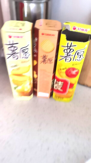 好丽友(orion) 薯愿香焗番茄味薯片/红酒牛排味非油炸休闲零食品 办公室休闲零食 香烤原味味 48g/盒 晒单图