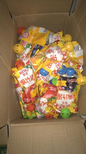 亨氏 (Heinz) 4段 婴幼儿辅食 宝宝零食 苹果草莓山楂红枣  乐维滋清乐果汁泥120g (1-3岁适用) 晒单图