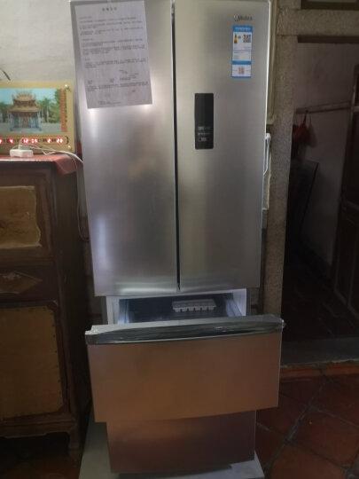 美的(Midea)318升 多门冰箱 双变频 风冷无霜 分区储存APP控制智能电冰箱 星际银BCD-318WTPZM(E) 晒单图