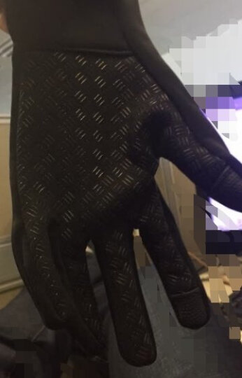 SAHOO 触屏手套秋冬季骑行手套户外登山防滑自行车长指防风保暖手套 L号 晒单图