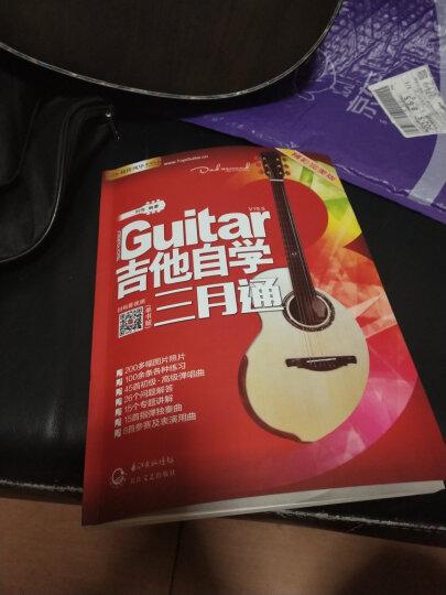 刘传风华系列从书:吉他自学三月通精彩完美版 (单书) 晒单图