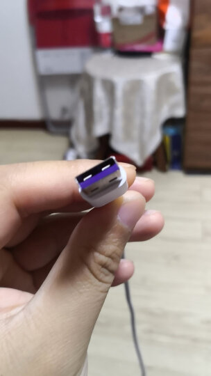 华为(HUAWEI)华为二合一数据线(白色)Micro USB+Type-C AP55S二合一 晒单图