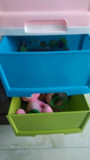 禧天龙Citylong 大号五层塑料收纳柜抽屉式衣物玩具储物整理层柜彩色90L 5022 晒单图