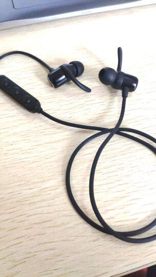 漫步者(EDIFIER)W280BT 磁吸入耳式  无线蓝牙线控耳机 手机耳机  可通话 超长续航  黑色 晒单图