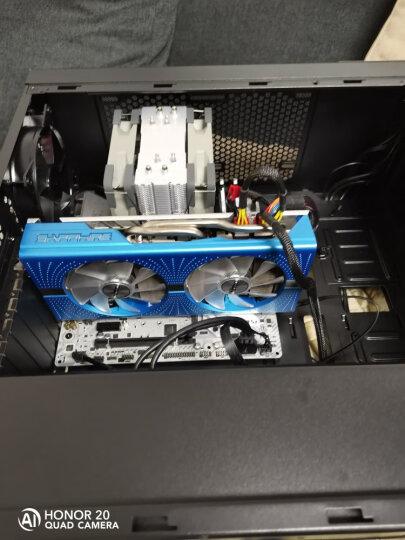 酷冷至尊(CoolerMaster)MasterBox MB500 毁灭者Ⅲ 中塔机箱(支持ATX主板/12cmx2蓝光风扇/长显卡) 晒单图
