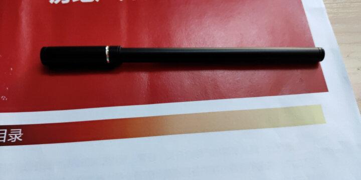 英雄(HERO)858红色碳素中性笔 签字笔 学生办公速记12支装 晒单图
