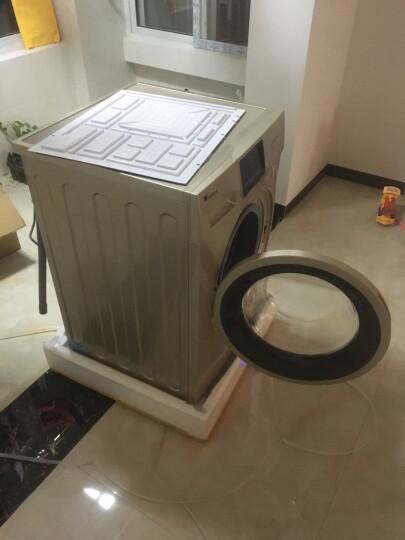 小天鹅(LittleSwan)8公斤变频 滚筒洗衣机全自动  1400转电机喷淋无残留静音节能 TG80V20DG5 晒单图