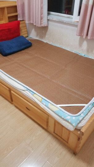 艾薇 床垫家纺 日式榻榻米学生宿舍床垫单人加厚可折叠床褥垫子 情定巴黎 0.9米床 90*190cm 晒单图
