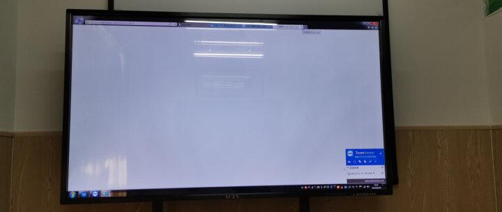 YCZX 教学一体机会议触摸屏电视电脑电子白板多媒体触摸一体机壁挂幼儿园商显触控机广告机 75英寸触摸一体机 i3/4G/120G固态(店长推荐) 晒单图