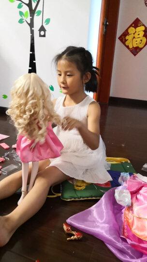 叶罗丽 娃娃小娃娃女孩公主玩具60厘米洋娃娃夜萝莉洋娃娃玩偶人偶套装 草莓蛋糕(2套衣服+1双鞋子) 晒单图