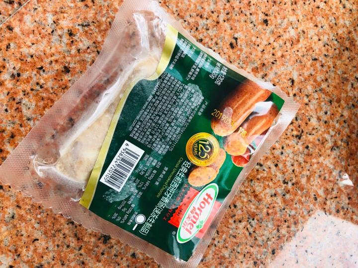 荷美尔(Hormel)经典德式香肠120g/袋 冷冻生制 火腿肠 热狗 纯肉肠 烧烤肠 早餐食材(2件起售) 晒单图